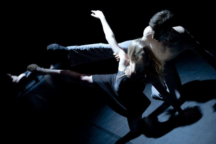 v.l.: Sophie Balet, Dwayne Holliday