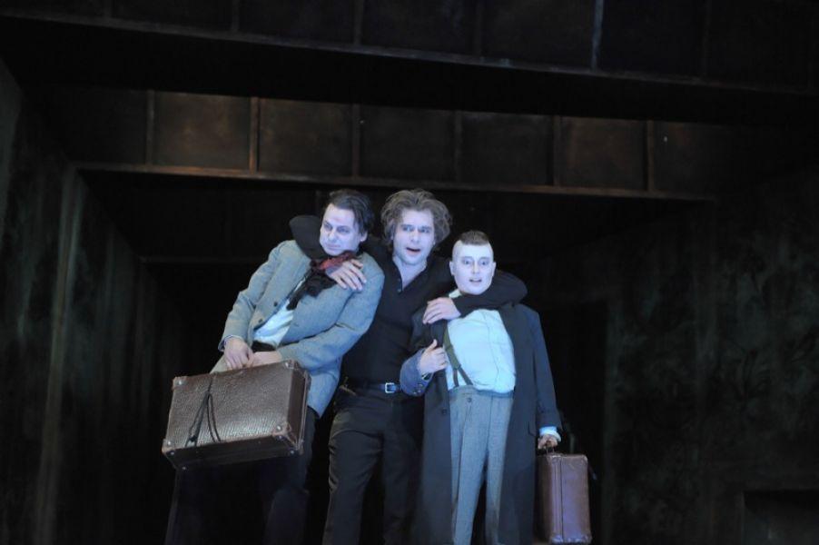 v.l.: Gunther Nickles, Volkram Zschiesche, Sibylle Schleicher