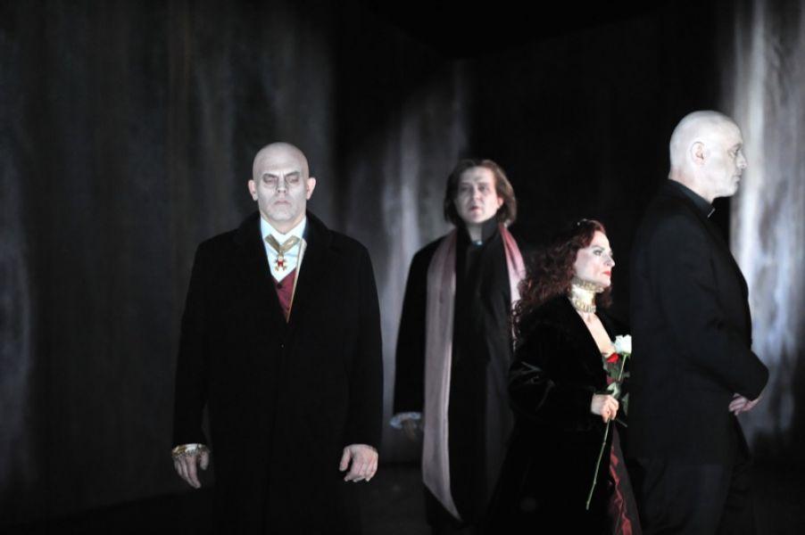 v.l.: Thomas Kollhoff, Antonio Lallo, Christel Mayr, Wilhelm Schlotterer